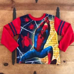 Marvel Spider-Man Homecoming Boys Pajama Top